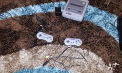 Rfurbished Super Nintendo Snes with 2X controllers and