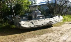 ZODIAC style, 24' Ridged Hull Inflatable Boat built by