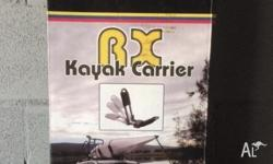 RHINO RACK RX Kayak / Canoe Carrier Aerodynamic Heavy