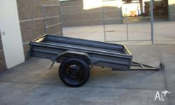 RIBS SIDE TRAILER, Box Trailer, Standard Trailer, 3