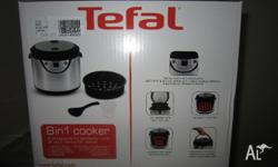 New: Never Used Still in Box. Supplier:TEFAL Model No: