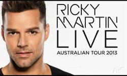 Selling 1x Ricky Martin Ticket for extremly cheap.