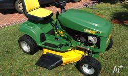 3 Year Old Cox Rideon Lawn Mower. Great Condition,