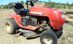 MTD Yard Machine Ride-on Mower. $1000 ono. Fairly Good