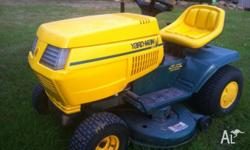 Ride-on Lawnmower, automatic drive, 41 inch cut, great