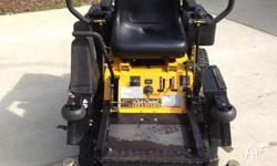 "Cub Cadet ""Z""-wing 48"" cut ride-on mower is a solidly"