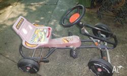 Ride On Kids Toy Pedal Bike Go Kart, used condition,
