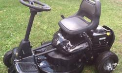 Ride on lawn mower. In good. Condition and. Works very