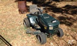 Victa ride on mower, new blades and drive belt, no