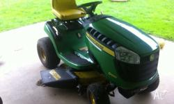 John Deere D100 ride on in good condition 45 hours Only