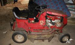 ! Ride on Mower Useful for parts! Cox Stockman 12.5 hp