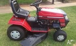 Hi i am after a RIDE ON MOWER for my block..If you are