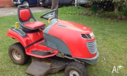 COX Stockman Ride On Mower - Great Buy!! 15HP Briggs