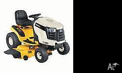 "20HP, 42"" Cut - Cub Cadet Ride On Mower. In Good"