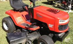"RIDE ON MOWER ROVER CLIPPER 42"" CUT 15.5HP AUTOMATIC"