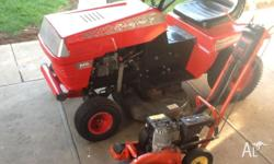 Ride on Mower Rover Rancher 14 1/2 horse power, 38 inch