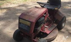 GET THAT OLD RIDE ON MOWER RUNNING SWEET FORTHE NEXT