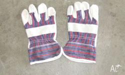 Brand new rigger gloves made from industrial based
