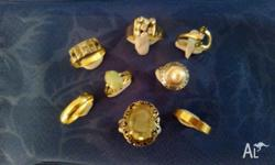 This is a personal collection, consisting of 6 x 18ct