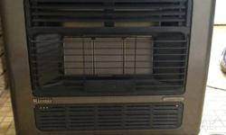 Fan assisted gas heater in good condition. Great for