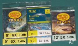 Rio Knotless Tapered Freshwater Leader: 9ft 6x (3.4lb)