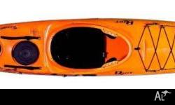 Fantastic Se Kayak with rudder and skeg Riot is one of