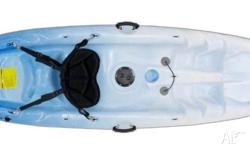 ONLY 14.6 Kg Fantastic Recreational SOT Kayak package,