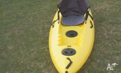Riot Escape single sit-on kayak - only used a couple of