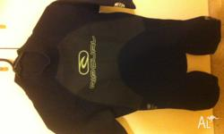 Rip Curl wet suit in perfect condition.