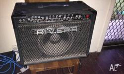 Rivera M60 Valve amp up for grabs. It's pretty dusty