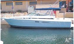 RIVIERA (F/glass) 3000, 2003, model, 2x 200hp Volvo