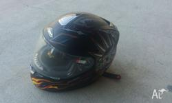 Selling my motorcycle helmet, it's an RJays Striker