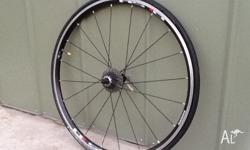 Hi, I have a set of road bike wheels for sale. The real