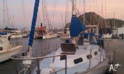 Roberts 34ft Yacht in TinCan bay..ready to sail on