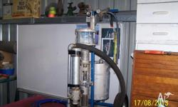 Robinson airless gelcoater. Good for parts or to