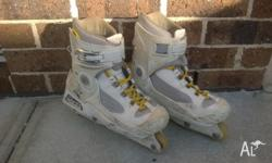 Aggressive Inline Skates purchased new in 2003, used