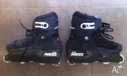 black Roces UFS Inline Skates Used but in good