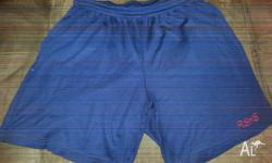 2 Pair of unisex shorts size large $10.00 each can