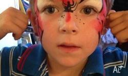 - Face painting- We use beautiful quality paints and