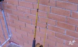 JARVIS WALKER 8 FT 2 PIECE ROD ALVEY (600A5) SIDECAST