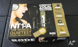 Rode NT1-A Studio Condenser Microphone (NT1A) Selling