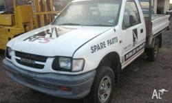 2000 v6 holden rodeo 5 speed all parts WRECKING ONLY