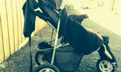 Roger Armstrong Elfin stroller/pram with: Outlook
