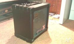 Roland Cube 15X for sale. 1x8 solid state combo. Rated