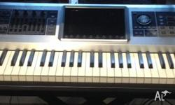 Roland's most advanced music workstation. Only used in