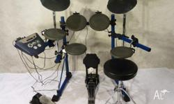 Roland TD-6 Electronic Drum Kit This TD-6 has hi-hats,