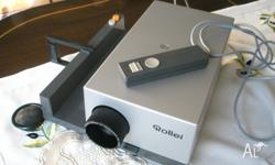 Rollei Slide Projector automatic remote controlled.