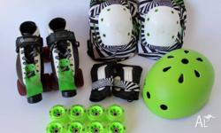 Great roller derby fresh meat lot, including: - Bont