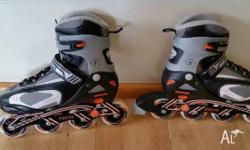 * Blade Roller Skate, * Adjustable sizes (7,8,9, &