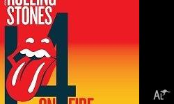 Two Rolling Stones tickets for sale for the Adelaide